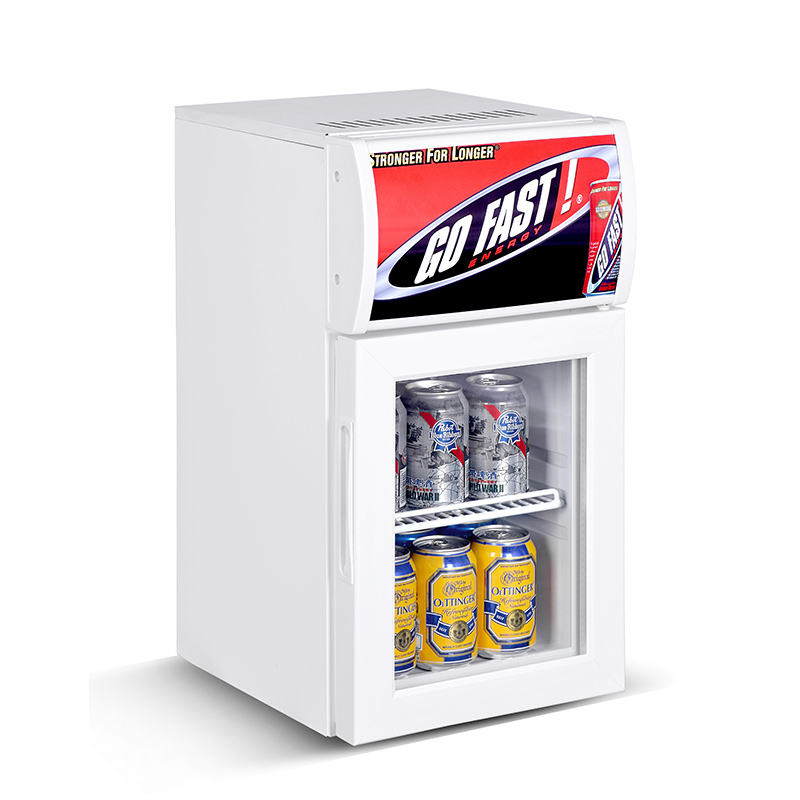 Sport bottiglia 20l mechandiser mini frigo/refrigeratore mini
