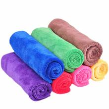 80% polyester + 20% polyamide microfiber 300 gsm car cleaning towel