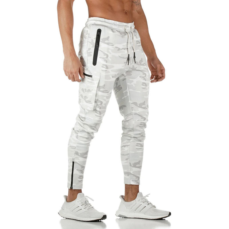 2020 Wholesale Plain Cotton Gym Sports Custom Men's Joggers