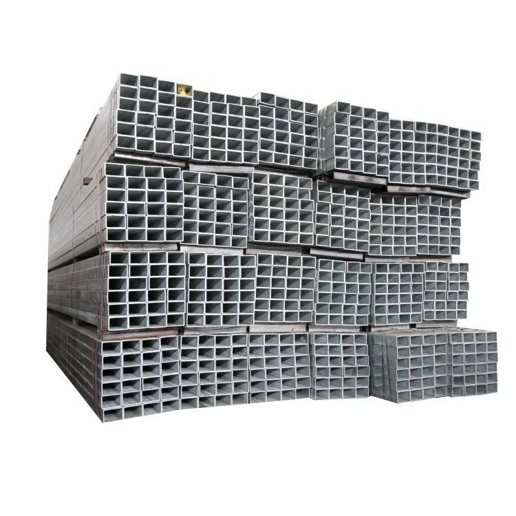 Factory Direct Sales HDG Steel 4x4 Galvanized Square/Rectangular For Metal Fence