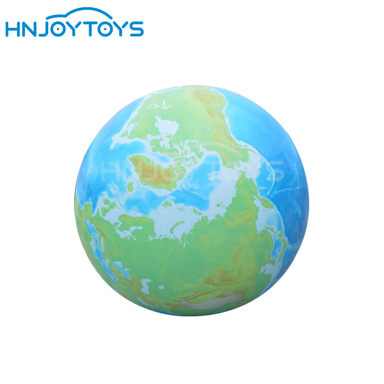 Airtight PVC Digital Printing 2m Diameter Inflatable Planet Earth Balloon