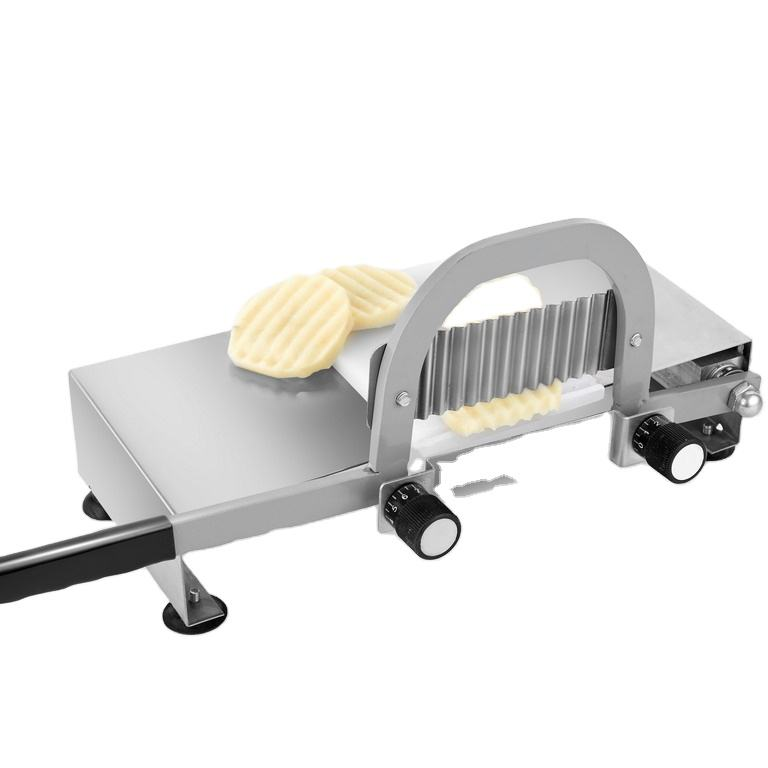 Crinkle Chip Slice Cutting Machine/Hand Ripple French Fry Cutter