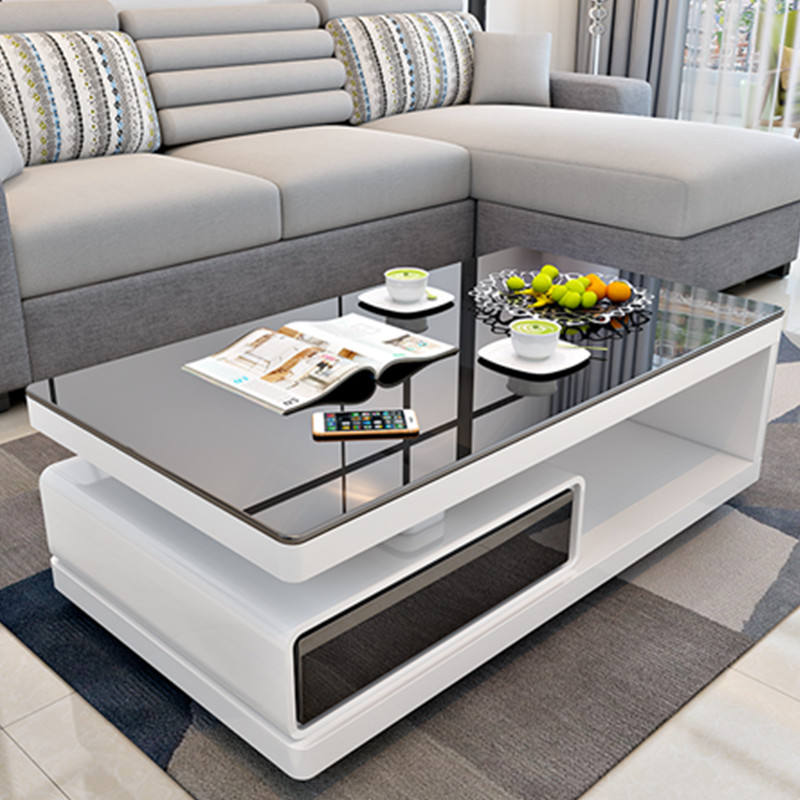 Modern High Gloss Lacquer Living Room Furniture Wooden Tea Table/Coffee Table