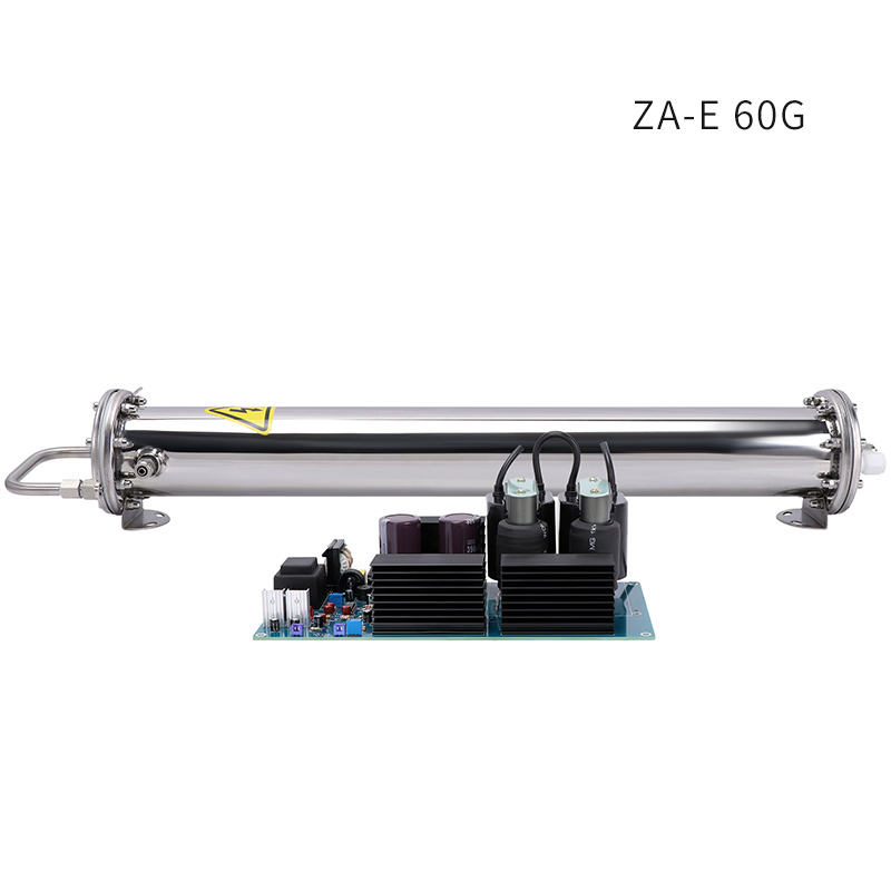 10-60g water cooling ozone enamel tube generator,corona discharge ozone generator parts, ozonator cell for water treatment