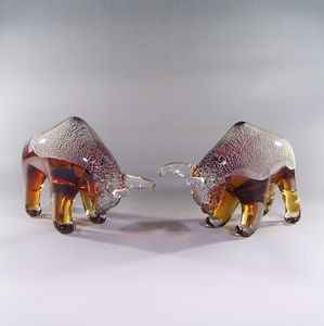 Good Quality Hand Blown Glass Craft as Birthday Gift Murano Glass Art Glass Craft Animals as Business Gift