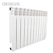 factory price Oval shaped aluminum Designer home heating hydraulic radiators for home