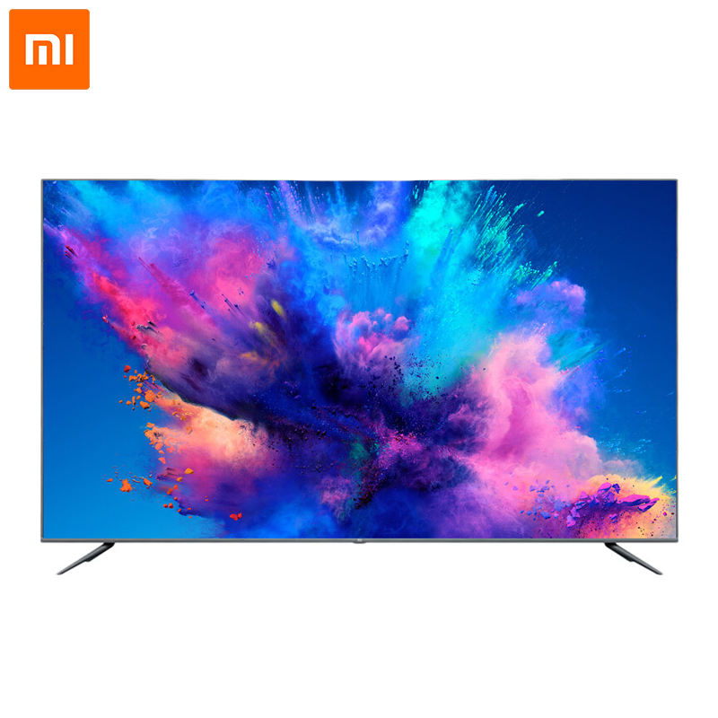 75-inch Mi <span class=keywords><strong>TV</strong></span> 4S HDR LED Smart <span class=keywords><strong>TV</strong></span> 4K Ultra HD Bluetooth Telecomando Vocale con un <span class=keywords><strong>64</strong></span>-bit Processore Quad-core da 2GB + 8GB Dolby + DTS