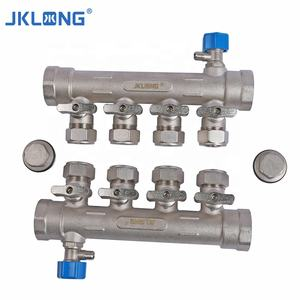 hvac system manifold brass normally open manifold valve water valve heater integrated regulating manifold
