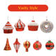 China Decorations China OEM/ODM Wholesale Christmas Tree Decorations Plastic Hanging Ornaments Plastic Balls