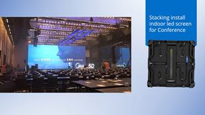 10Ft X 12Ft P3.91 Indoor Giant Event Stage Advertising Led Display Screen Panel For Concert