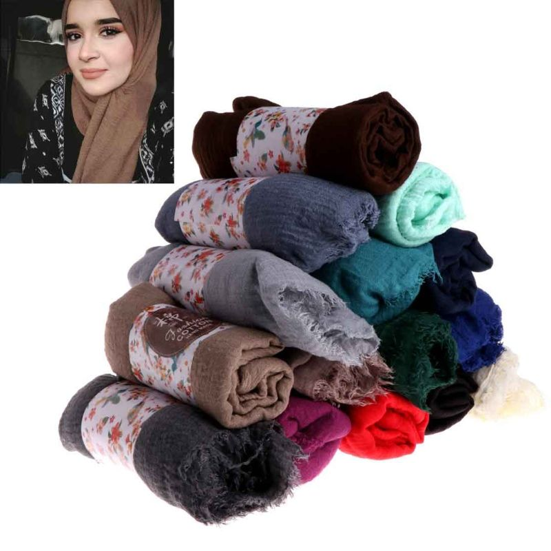hot new arab luxury scarf muslim wear neck cover muslimah hijab wholesale usa islam clothing