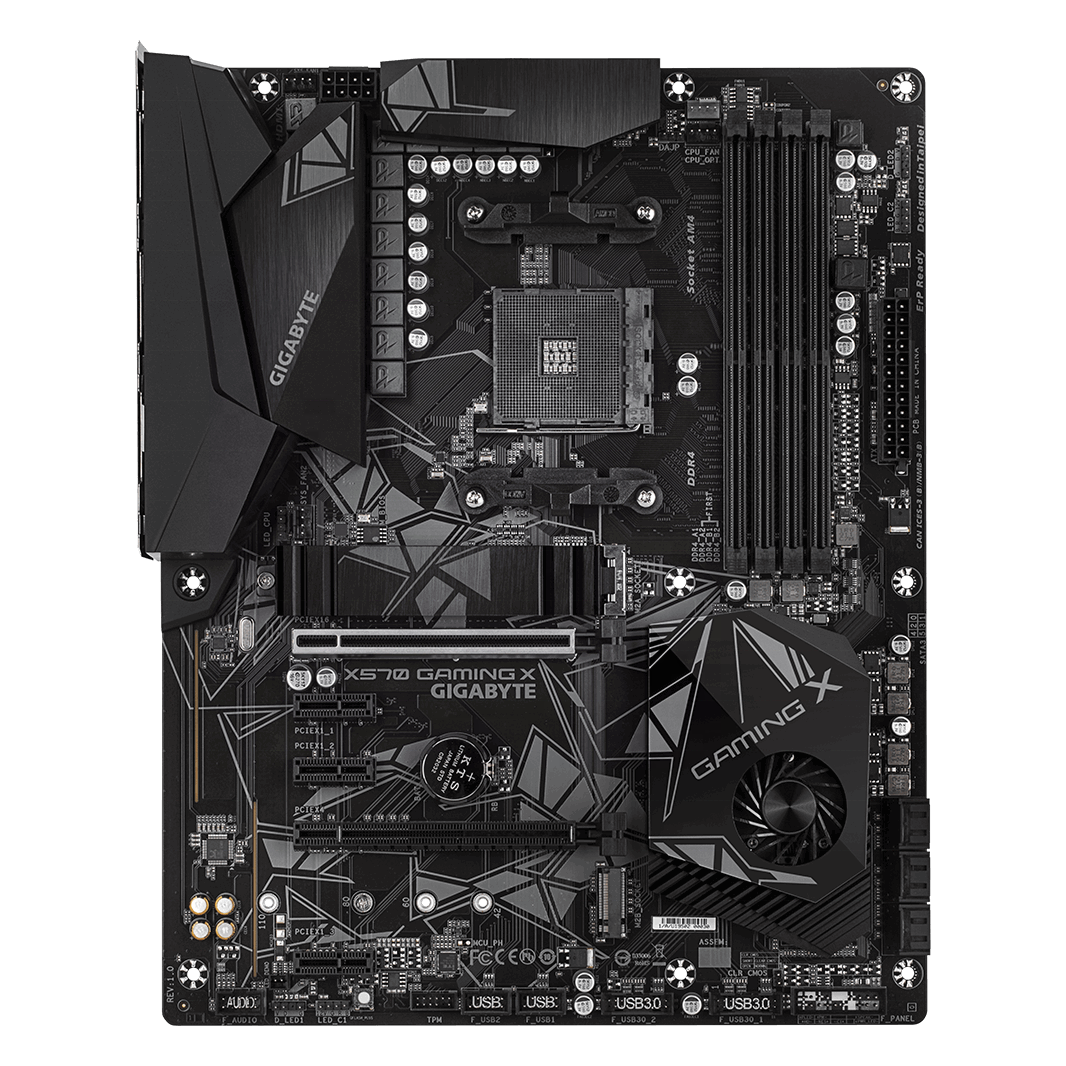 Good Price Motherboard GIGABYTE X570 GAMING X For Gaming Desktop Mainboard