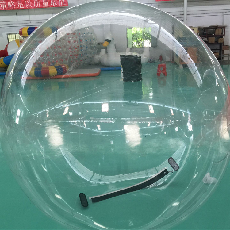 Customized Inflatable Floating Water Walking Pool Ball / Human Water Bubble Ball for Rental