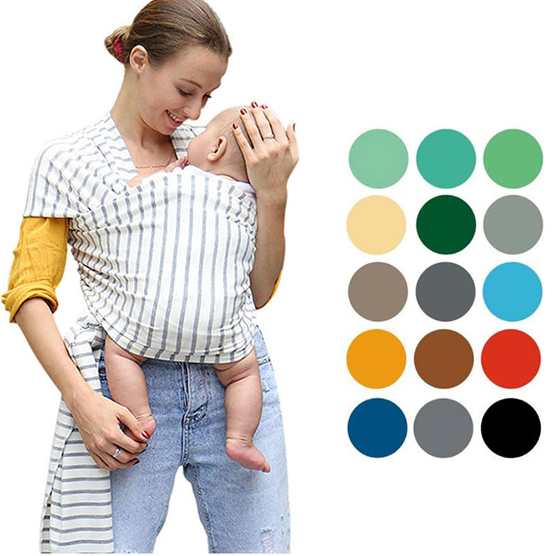 Factory wholesale baby wrap carrier for newborn baby/baby wrap