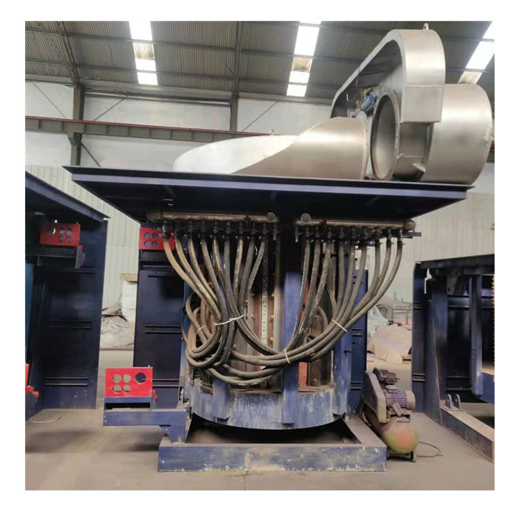 Hot 20 tons Large-scale induction melting furnace made in china manufacturer
