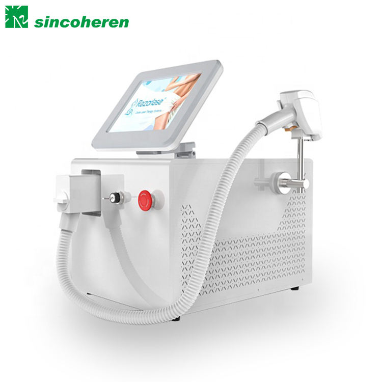 FDA Portable Diode laser hair removal machine 808nm 755nm 1064nm 3 wavelengths diode laser for sale