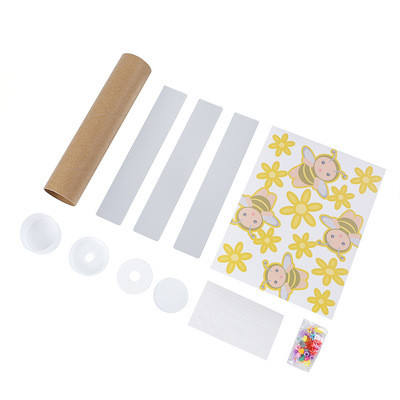 Educational Toys Paper Kaleidoscope Science Fiction DIY Painting Self-Adhesive Custom Magic Kaleidoscope Toy