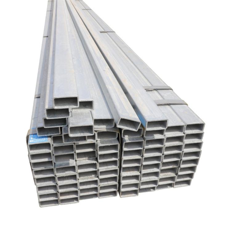 Içi boş bölüm Metal karbon dikdörtgen kare kesitli çelik tüp fiyat