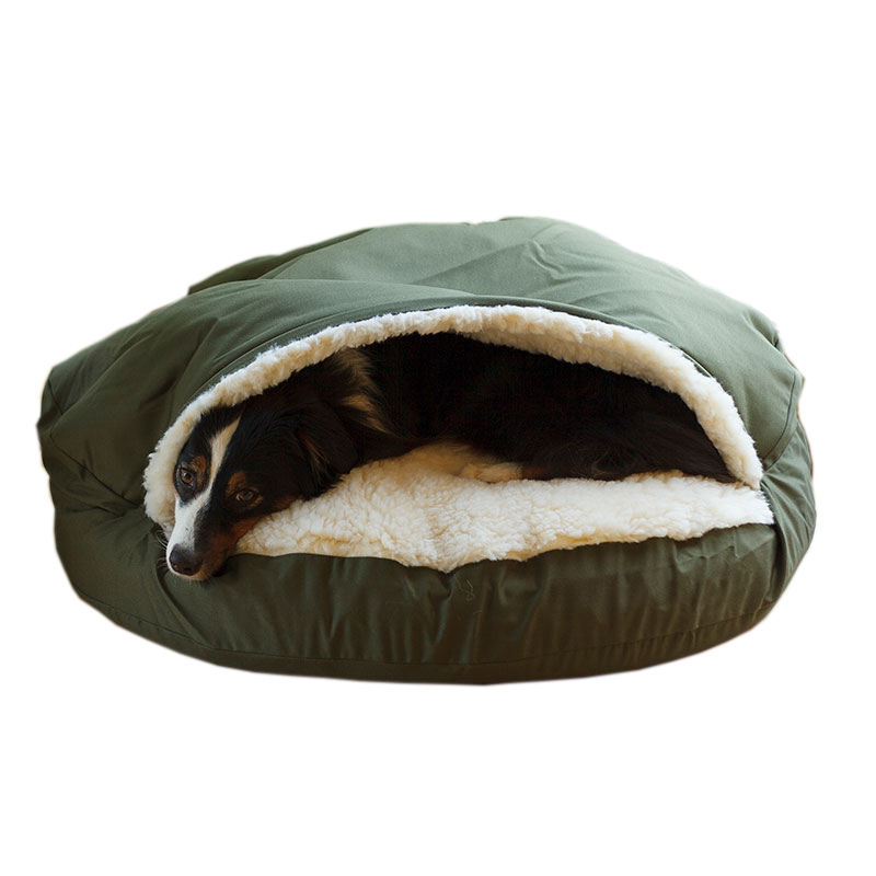 2020 New Products dog hole bed Washable Round Pet Sleeping Bag For Dog