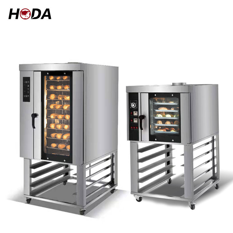 China hot air 10 5 tray industrial convection oven electric with steam bakery commercial convection ovens for sale baking bread