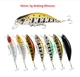Rapla Lures Fishing Wholesale 50mm 5g light Sinking Minnow Lure Hard Bait Beach Walker Pesca Bass Fishing
