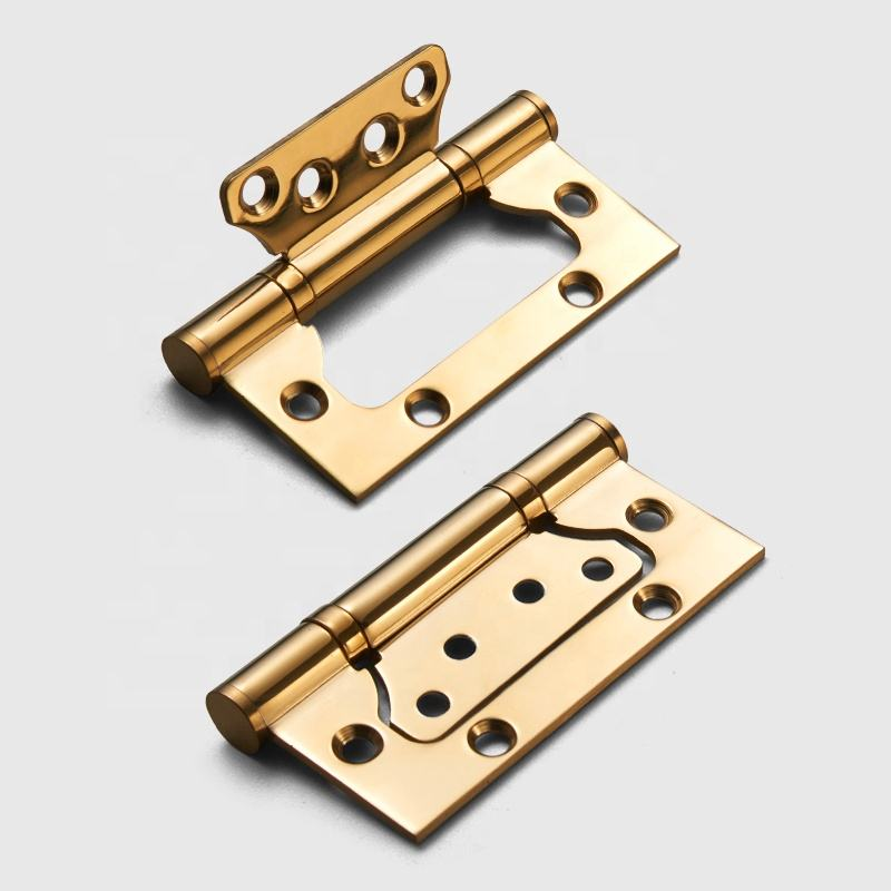 Hot high strict quality control 3 color stainless steel door hinge