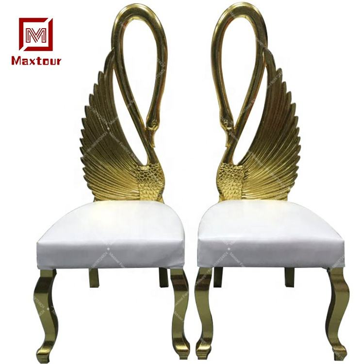French style fiberglass frame cheap king throne chairs for bride and groom