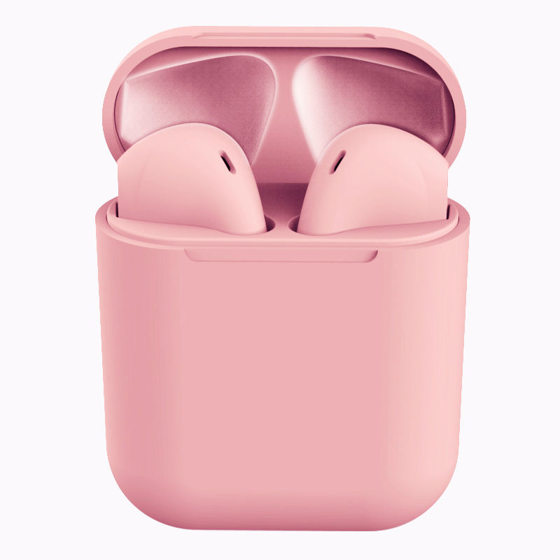 Free Sample Colorful Newest Touch logo printed Headset wireless earphone Tws 5.0 Wireless Earphone Inpods12 inpods 12