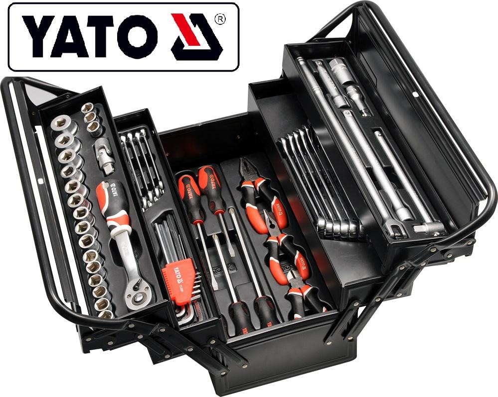YATO 2019 HOT SALE HAND TOOLS 63 PCS FOUR TOO BOX YT-3895
