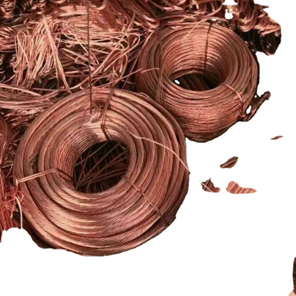 Production of low - cost high purity copper scrap wire 99.99