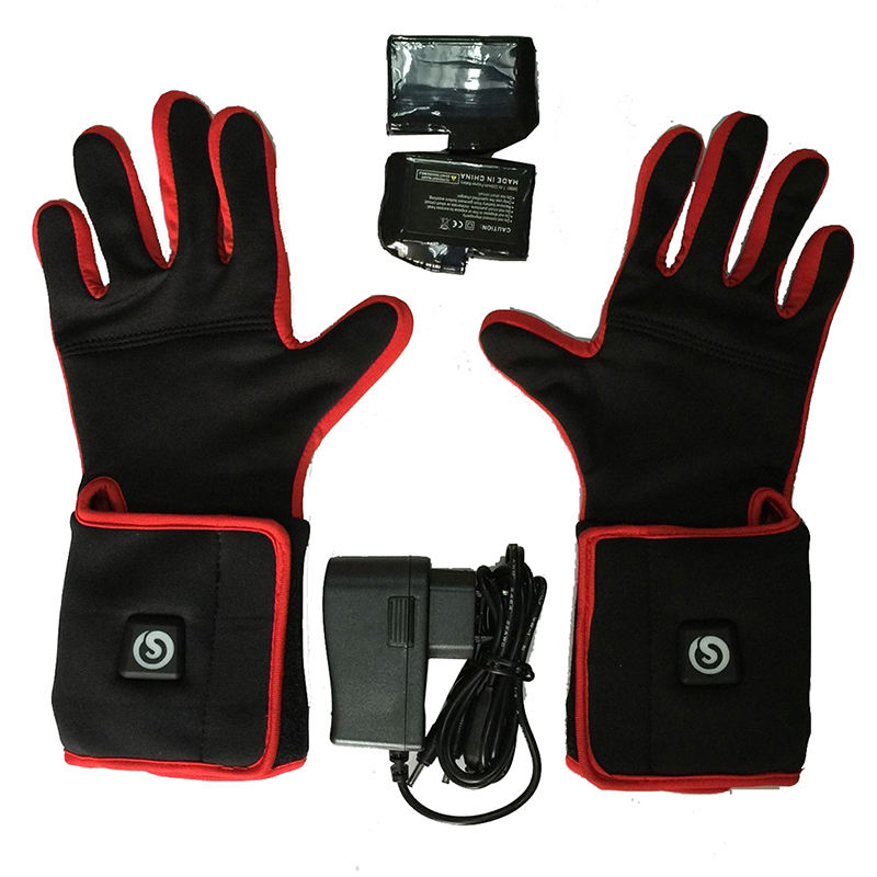 Wholesale Custom Winter Waterproof Electric Heated Glove Liners with Rechargeable Battery Powered