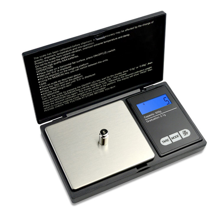 Gold Gram Electron Digit Pocket Scale 0.01G 300G 1Kg 500G For Jewelry