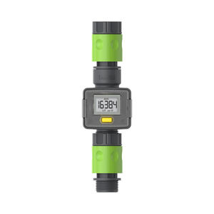 Water Flow Meter Hose End Water Sprayer Use Home and Garden Water Meter