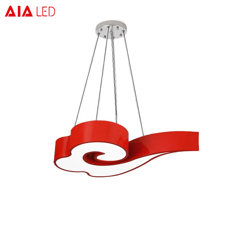 Contemporary interior modern multicolour children light pendant light led cartoon light for nursery school project