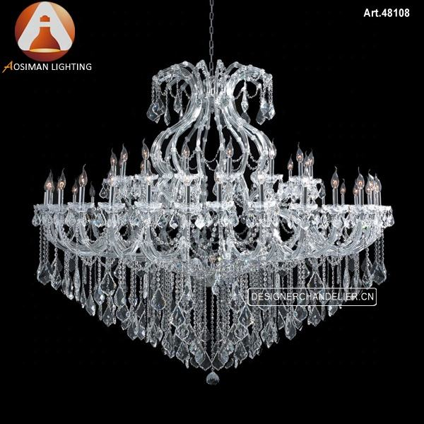 Maria Theresa Crystal Chandelier Lighting with Clear Crystal