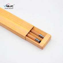 promotion 2020 new year best corporate box gift sets custom ECO bamboo pen with box logo