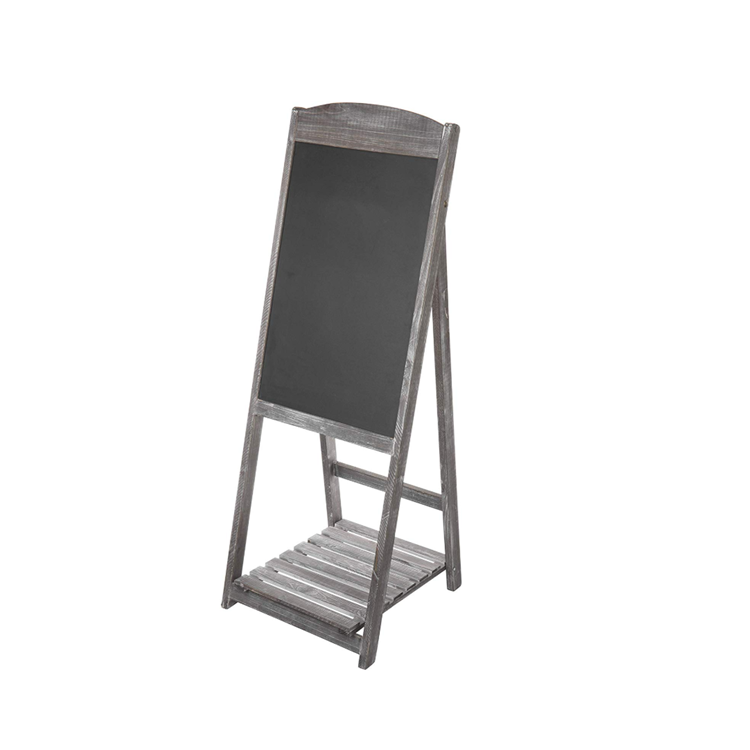 Safety Eco-friendly Dark Gray Foldable Portability Market Advertising Chalkboard