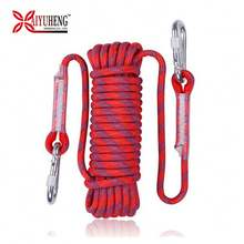 Baiyuheng New Product Outdoor Multistrand Braided 10Mm Nylon Climbing Rope For Mountaineering