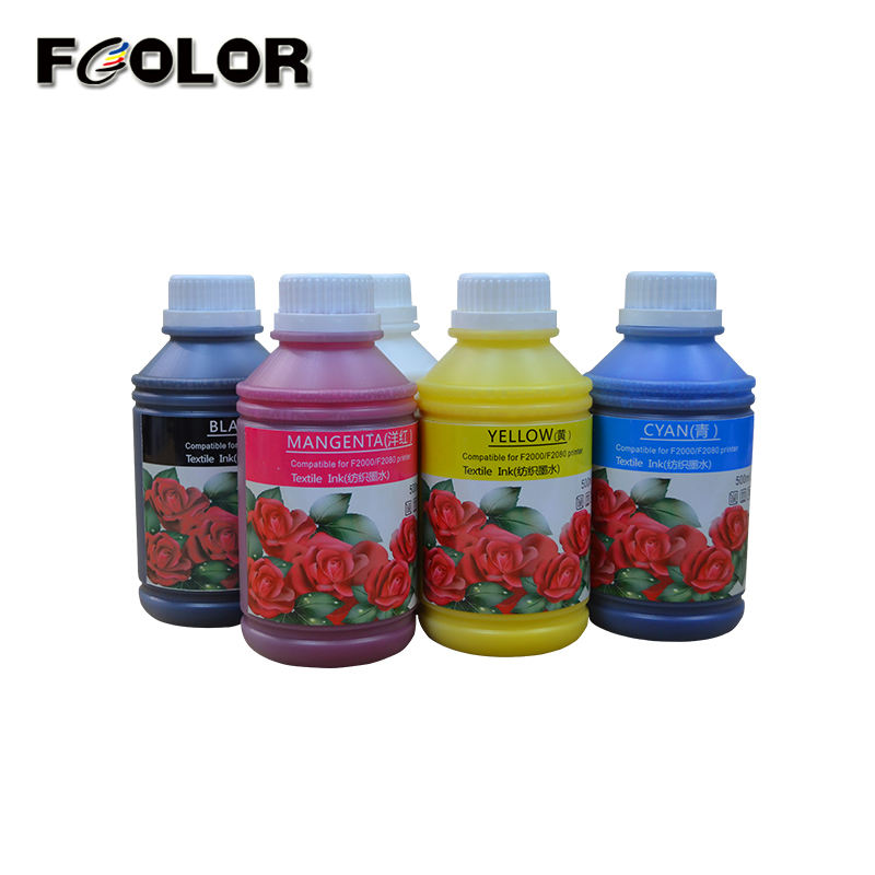 Fcolor 2019 Reliable ink textile pigment uv silkscreen