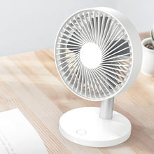 2020 Hot sale  Battery Rechargeable  Desktop fan Small Mini Usb Desk Fan