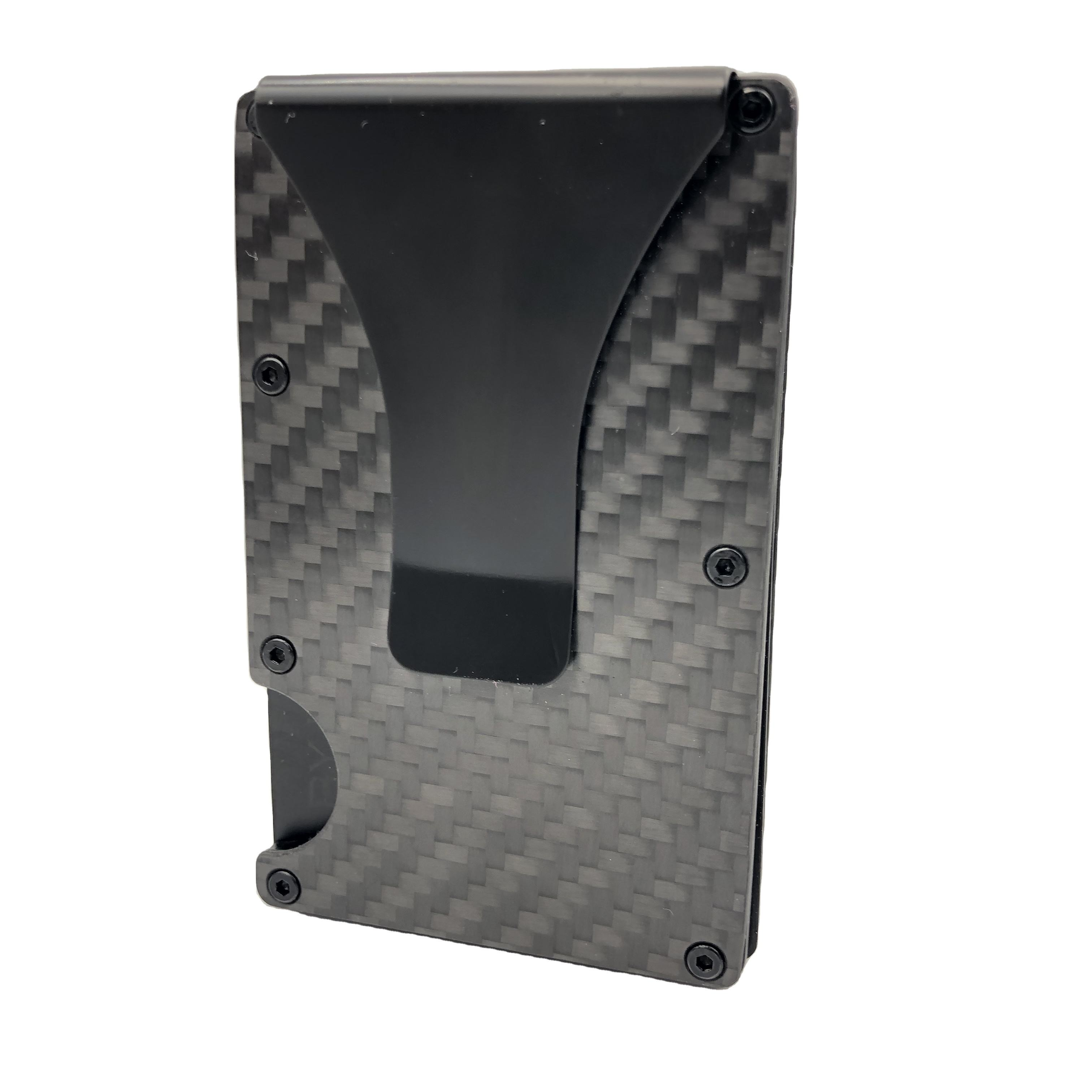 New Arrival Real Carbon Fiber Card Holder Money Clip Carbon Men's Business Fiber Wallet