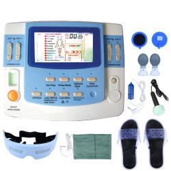 Integrated Physical Therapy With Ultrasound Tens & Ems Physiotherapy Equipment 7 Channels With laser and sleep function