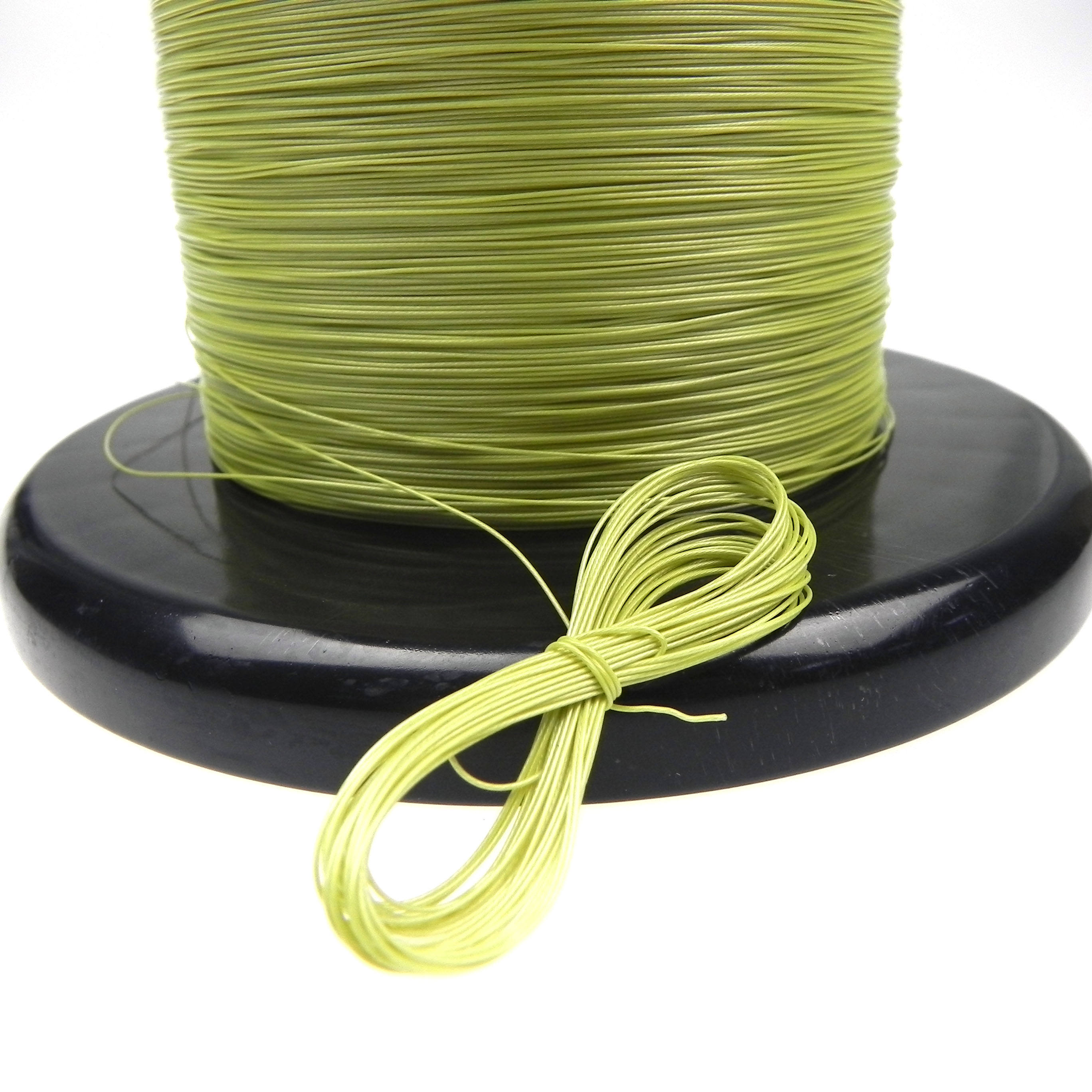 UL10064 32AWG Stranded electronic Wire Light green color High temperature OD 0.38mm Micro teflo cable