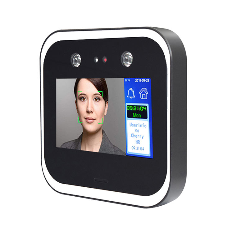 Wifi TCP/IP Biometric Detection Face Recognition System Access Control Free SDK Facial Time Attendance