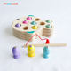 Wooden Fishing Toys For Kids Wooden Magnetic Fishing Game Party Game Educational toy