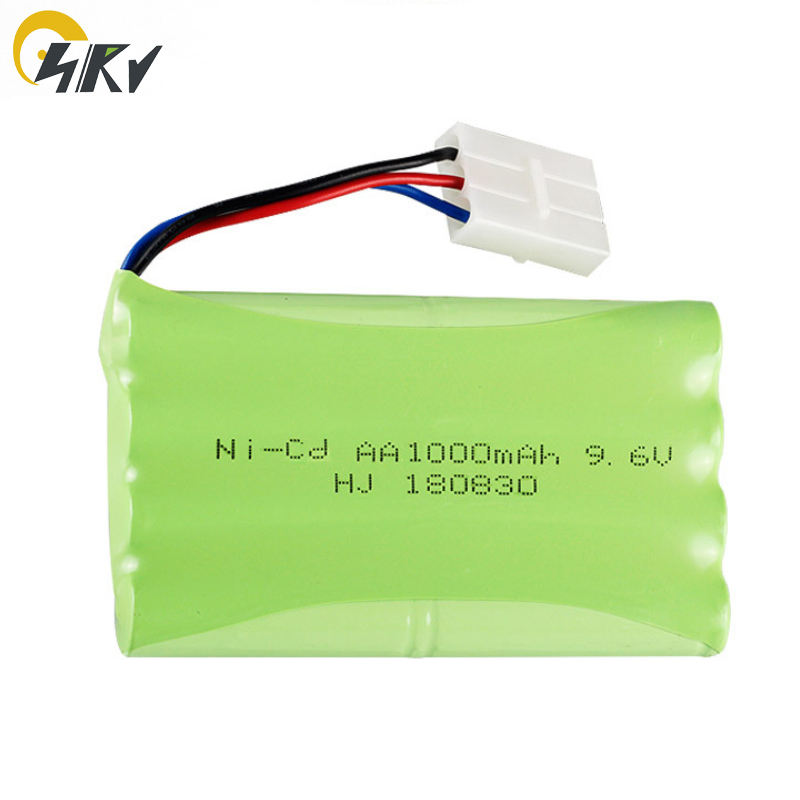 9.6V AA NI-CD rechargeable battery pack for Meizhi 2050 toys with charger