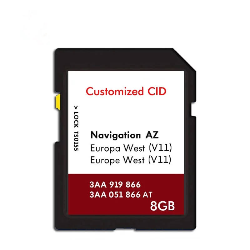 China Professional Factory Changeable CID custom cid Gps navigator Sd Memory Card 8GB 16GB 32GB 64GB For Sale Fast Delivery