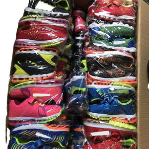 Mix color good quality kids air cushion casual sport shoes stock shoes