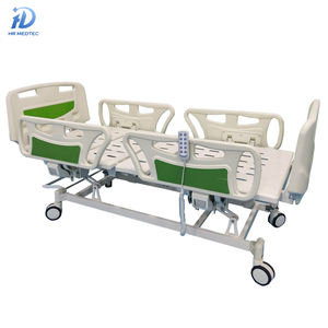 High Quality Customized ICU CCU and Home Use Medical Furniture ABS Multifunction Electric Hospital Nursing Bed with 4 Motors