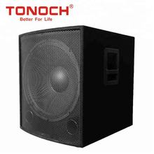 PA Sub woofer System 18 Inch Bass Speakers DJ Sound Box